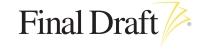 Final Draft, Inc